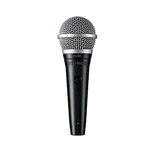 Shure Cardioid Dynamic Vocal Microphone with No Cable