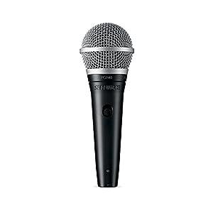 Shure Dynamic Microphone, XLR Connector, Blac...
