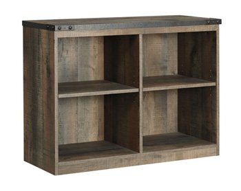 Bon Ashley Loft Bookcase In Brown