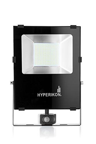 10 best outdoor motion sensor lights review list in 2018 hyperikon led motion sensor light large outdoor flood light ip65 100w 200w 5000k aloadofball Choice Image