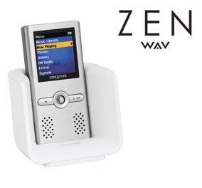 (Creative Zen Wav 2GB MP3 & Video Player W/ Built-In Speakers )