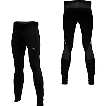 d1ba5478d7f1 Puma Mens PowerCell Long Running Tights Black (X-Large