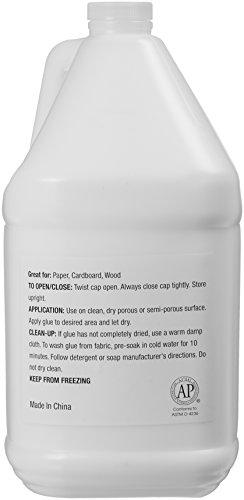 AmazonBasics All Purpose Washable Liquid Glue, 1 Gallon Bottle - Great for Making Slime Photo #2