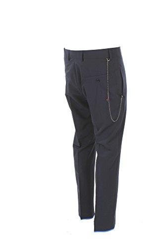 Pantalone Uomo Daniele Alessandrini 46 Blu P3571n8253802 Primavera Estate 2018