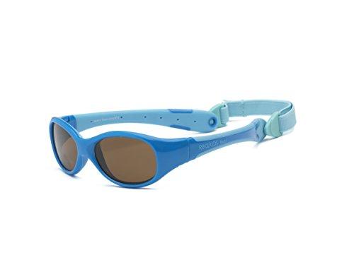Real Shades Polarized Explorer Sunglasses (Baby 0+, Aqua/Pink)