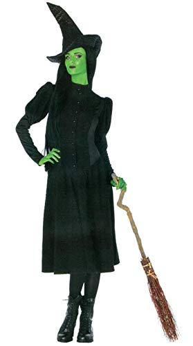 Leg Avenue Women's Wicked 2 Piece Elphaba Witch Costume, Black, Small for $<!--$60.89-->
