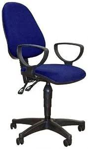 كرسي ملائم لمكتب السكرتيرة بمقبضين- 802-2