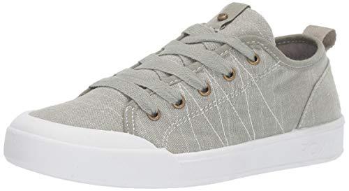 (Roxy Women's Thalia Lace Up Sneaker Shoe, Olive Green, 7 M US)