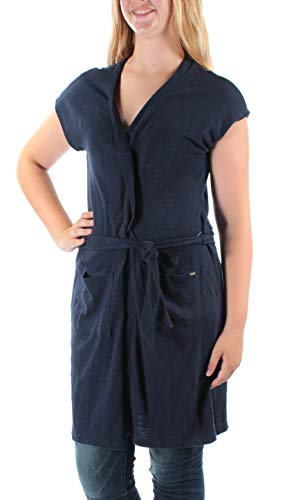Tommy Hilfiger Women's Belted Sweater Vest (Core Navy, ()