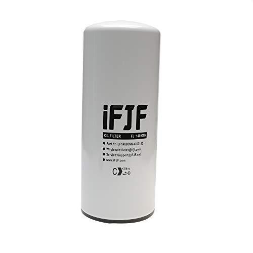 iFJF LF14000NN Lube Oil Filter for Cummins ISX ISM QSX QSM and M11 Engines Replaces LF9080 LF9001 BD7154 57746XD LF9080 4367100