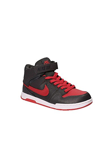 De Grigio Chaussures Nike Skateboard 2 Mid Fille Jr rosso B Mogan wa17wY