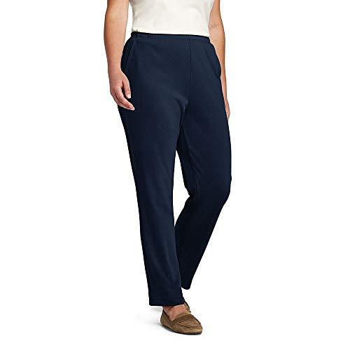 Lands End Womens Plus Size Petite Sport Knit Pants