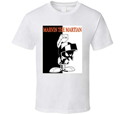 Marvin The Martian Looney Toons Cartoon T Shirt