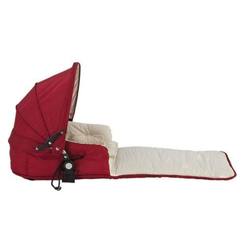 Single Tri-Mode Husssh Bassinet Color: Candy Apple