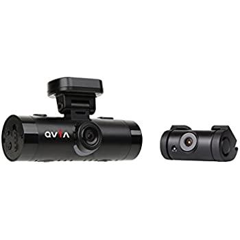 Qvia AR790 64GB WIFI ADAS Two Channel Dash Camera with Cigarette Power Cable Bundle (3 Piece)