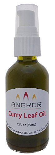 Curry Leaf Oil - 2 ounce (Curry Leaves And Coconut Oil For Hair Growth)