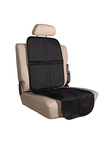Price comparison product image K4 Dynamics Child & Pet Car Seat Protector Cover | Thick 600D Oxford Fabric, Waterproof, Universal Fit, Non Slip Bottom & 2 Mesh Organizer Pockets | Protect Seats & Minimize Stains