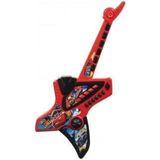 brigamo 43077 - Cars Guitarra infantil, rockige - Guitarra eléctrica con elektrischem Sonido: Amazon.es: Juguetes y juegos