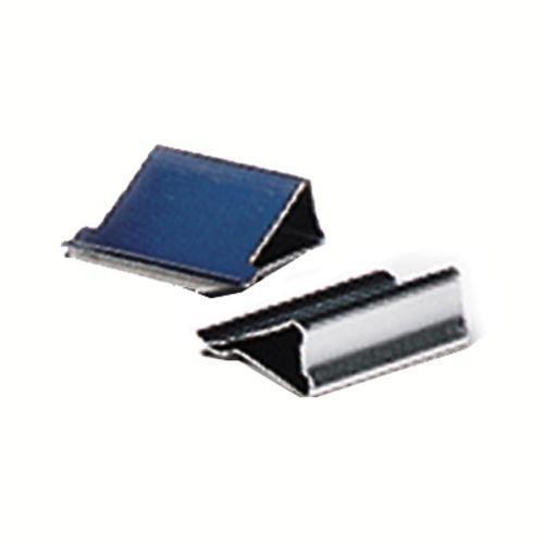Skilcraft 7510-01-317-4228 Clam Clip Dispenser Refill - Medium - 50 / Box - Blue