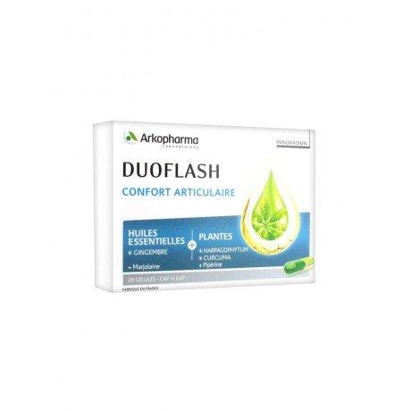 Arkopharma Duoflash Joint Comfort 20 Capsules by Arkopharma