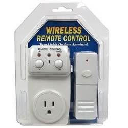 Light Remote Switch: Wireless Appliance Remote Control Lamp Light Switch,Lighting