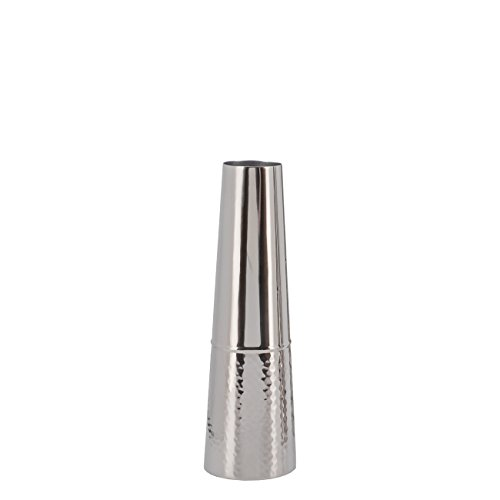 - Torre & Tagus Lipstick Stainless Steel Vase 12
