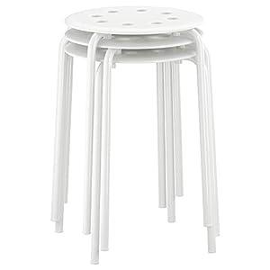 Ikea MARIUS – Stool, white