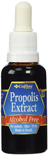 BRAZILIAN GREEN BEE PROPOLIS LIQUID EXTRACT ALCOHOL FREE 60 BRIX - 30 ml (6 BOTTLES) by Uniflora