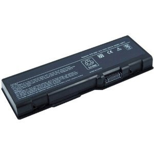 Laptop Replacement Battery, 6 cells, for Dell Inspiron 6000 9200 9300 9400 E1705, Inspiron XPS Gen 2, Replacement for parts 310-6321 310-6322 312-0339 312-0340 312-0348 312-0349 312-0350 C5974 D5318 F5635 G5260 G5266 U4873 GG574 ()