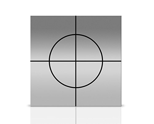 AdirPro N style 10 X 10 mm Reflective Adhesive Target Sheets for Total Stations (Pack of 10)