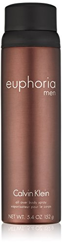 Calvin Klein euphoria for Men Body Spray, 5.4 oz.