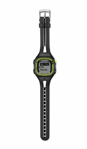 Garmin 010-01241-60 Forerunner 15 GPS Watch (Small) Black/Green