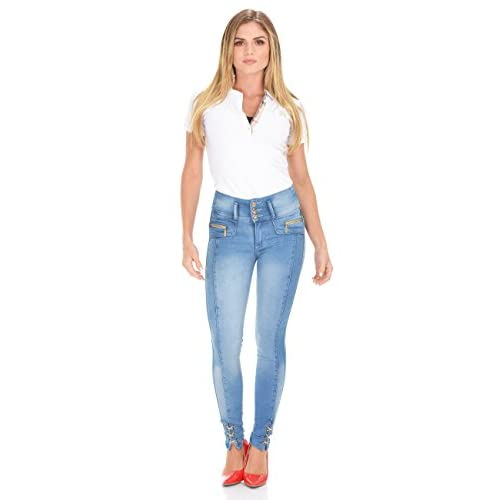 ec456075 Curvify Booty Lift Jeans | Super Shaping Jeans | Colombian Jeans Levanta  Cola
