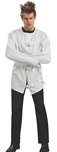 Rubie's Insane Asylum Straight Jacket Costume, Multicolor, Standard -