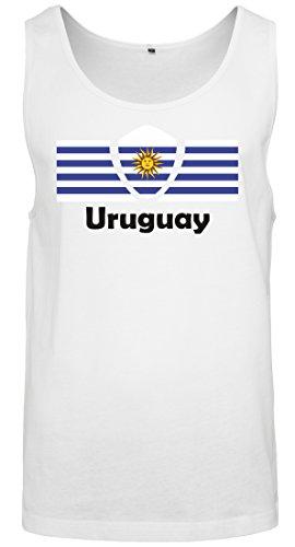 Les Tous Monde Uruguay Homme Drapeau Football 2018 Coupe Participants Du 2store24 Débardeur Pays BT8zxq