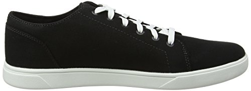 Uomo Canvas Stringate Nero Timberland Scarpe Bayham Black Oxford 001 Canvas 1nwOAxFAR