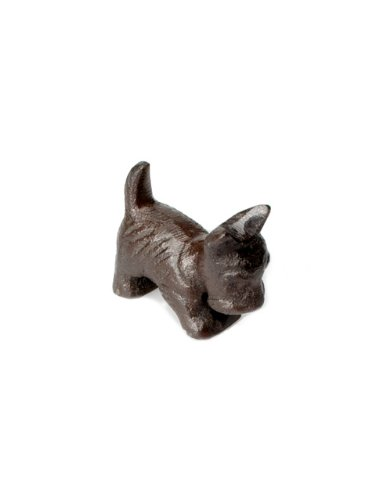 Abbott Collection Black Mini Scottie Dog Figurine