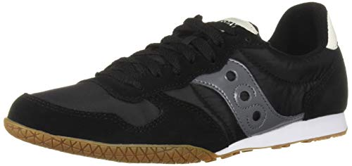 Saucony Originals Men's Bullet Sneaker Black/Gum 9.5 M US