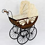 Regal Doll Carriages Caroline Doll Carriage Wicker Furniture