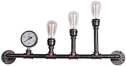 Vintage industrielle applique murale créatif conduite deau lampe
