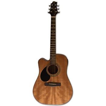 samick greg bennett design d1ce lh acoustic guitar natural musical instruments. Black Bedroom Furniture Sets. Home Design Ideas