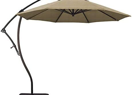 Phat Tommy 9 Ft Cantilever Offset Aluminum Market Patio Umbrella