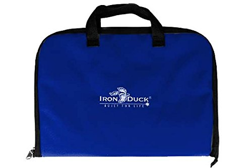 Iron Duck 33045-RB Laryngoscope Bag, Nylon, Royal Blue
