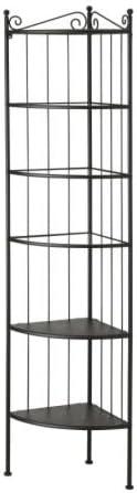 Ikea Ronnskar Eckregal Schwarz Amazon De Kuche Haushalt