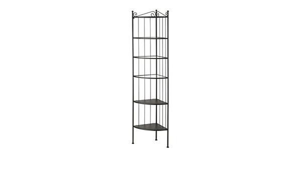 IKEA Rönnskär - Corner estantería, negro: Amazon.es: Hogar