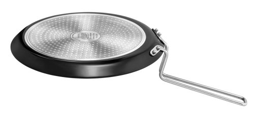 Hawkins Futura IQ45 Non-stick Induction Compatible Flat Tava Griddle, 10-inch ()
