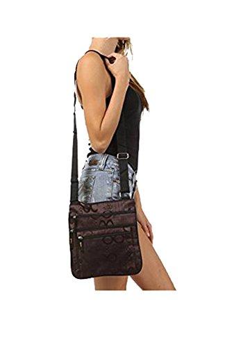 """Waooh - Mode - kleine Tasche """"Fashion"""" BLK336GF - braun"""