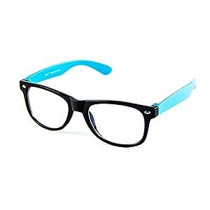 Cyxus Blue Light Blocking Glasses for Kids and Teens Anti Eyestrain Eyewear, Blue Frame