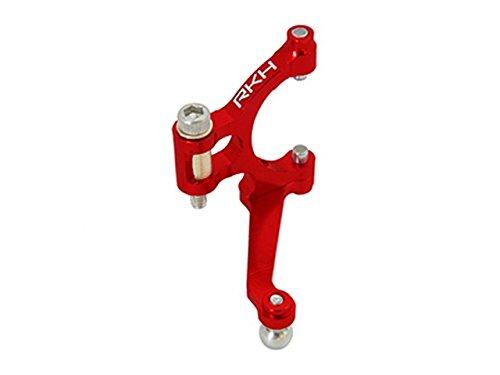 Pitch Lever Set (CLOSEOUT Rakon Blade 180CFX CNC AL Tail Pitch Lever Set (Red) - 180CFX926-R)