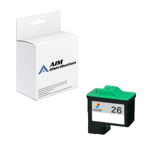 AIM Compatible Replacement for Elite Image 75232 Color Inkjet (275 Page Yield) - Compatible to Lexmark 10N0026 - Generic ()